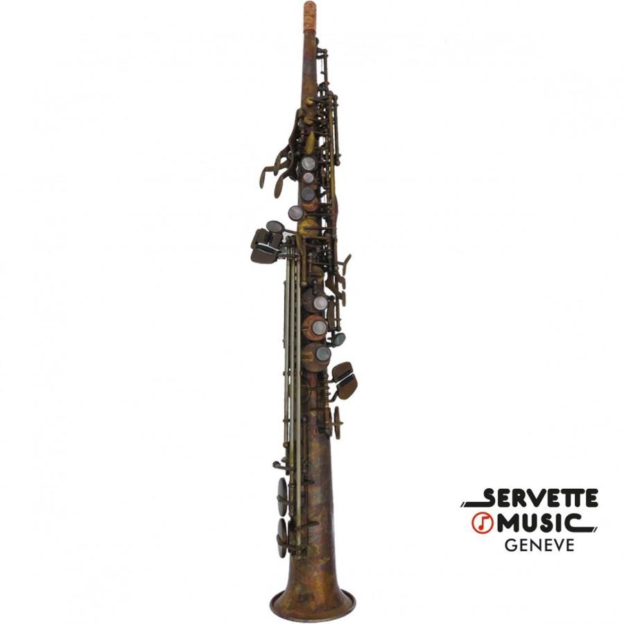 Saxophone Soprano Advences, modèle SIB800VT série Vintage