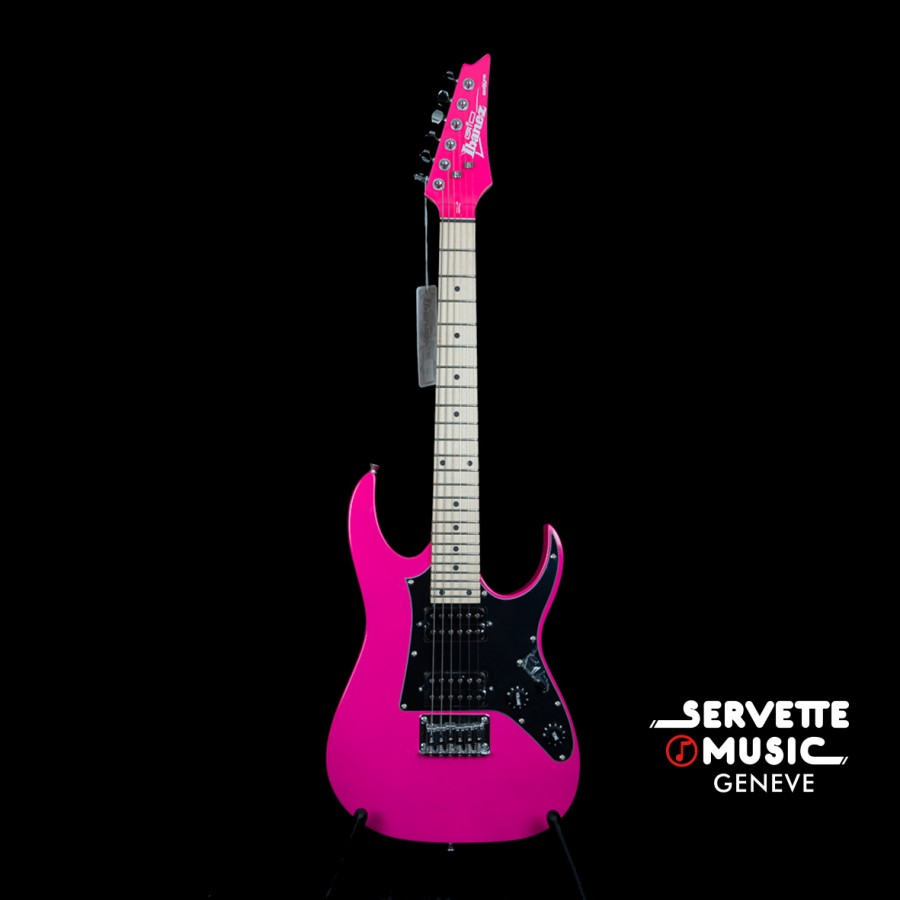 Image result for pink and black electric guitar