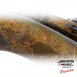 Saxophone Ténor Advences, modèle T901VT série Vintage Bronze