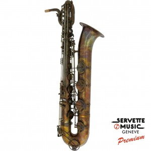 Saxophone Baryton Advences, modèle B900VT série Vintage Bronze (descendant au La Grave)